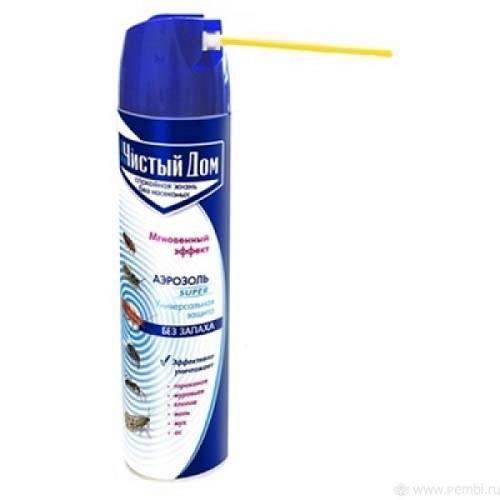 Аэрозольный инсектицид от тараканов