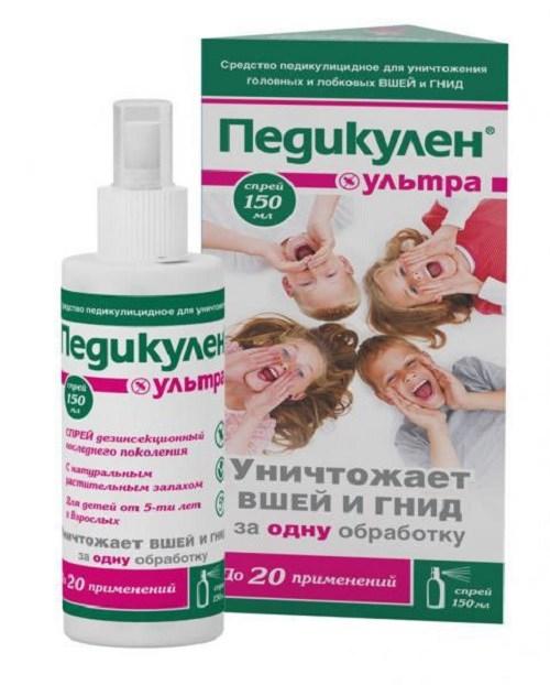 Педикулен: надежное средство от вшей и гнид