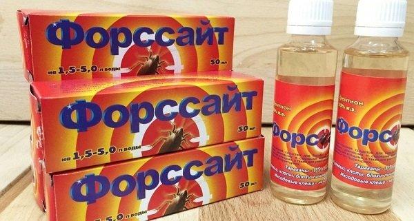 """Концентрированный препарат против клопов """"Форсайт"""""""