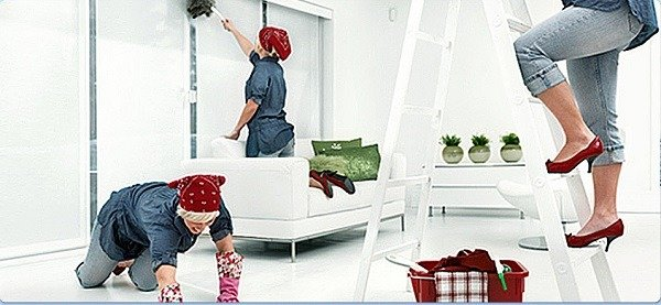 Уборка помещения перед травлей тараканов