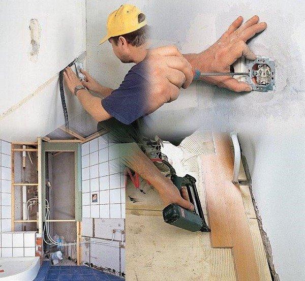 Проведите мелкий ремонт, чтобы очистить помещение от блох