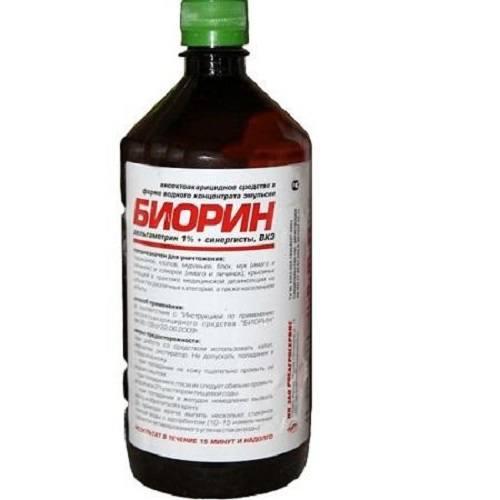 Биорин - надежное средство против блох