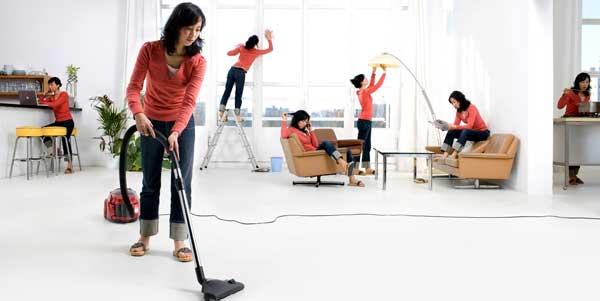 Уборка всего помещения поможет в борьбе с блохами