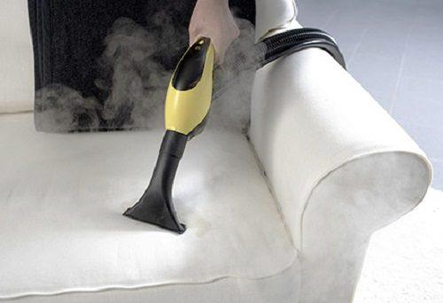 Отпариватель для одежды поможет справиться с клопами в диване