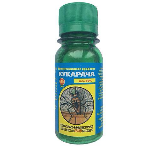 """Инсектицидное средство против клопов """"Кукарача"""""""