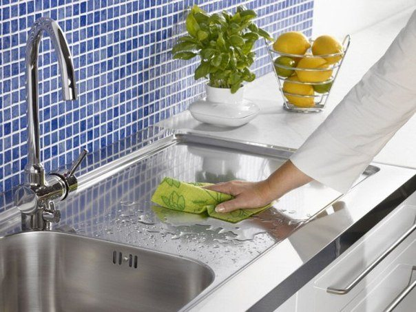 Чистота на кухне должна быть постоянной