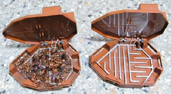 Электронная ловушка для тараканов
