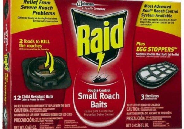 """""""Рейд"""": ловушки, действующие на всю популяцию тараканов"""