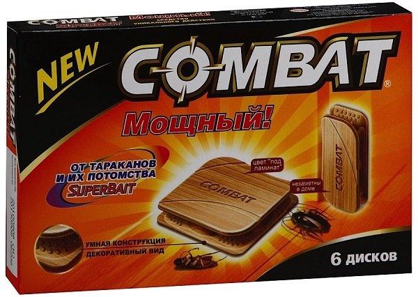"""""""Комбат"""": быстродействующие диски для ловли тараканов"""