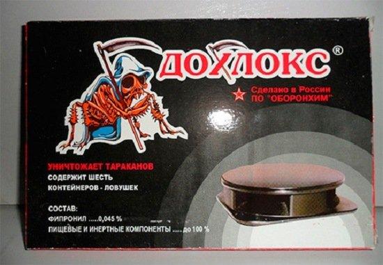 """""""Дохлокс"""": контейнеры-ловушки для тараканов"""
