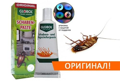 "Паста ""Глобол"" - средство №1 против тараканов"