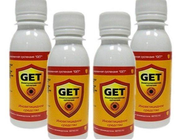 """Инсектицид """"Гет"""" поможет надолго вытравить тараканов"""