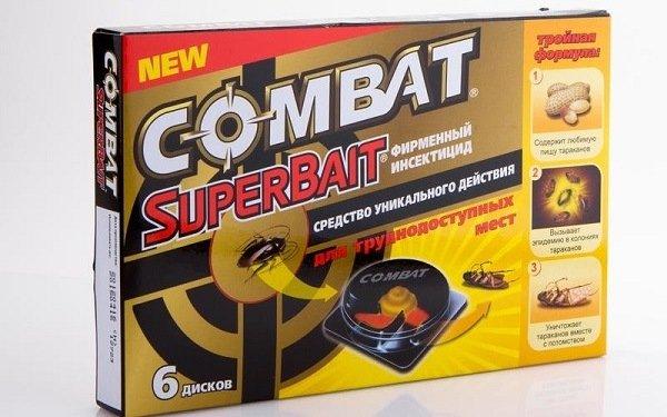"""Ловушки """"Комбат"""" являются очень эффективными в борьбе с тараканами"""