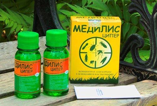 """""""Медилис-Ципер"""" - эффективное средство против клопов и других насекомых"""