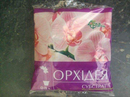 Специальный субстрат для орхидей
