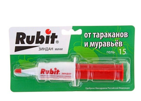 """Гель """"Рубит"""" способен уничтожить любых ползающих насекомых"""