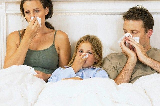 Аллергический ринит - первый признак наличия пылевых клещей