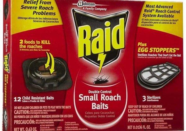 """""""Рейд"""" - эффективные ловушки для тараканов"""