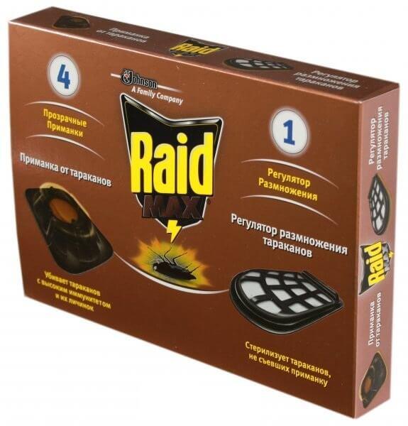 """""""Рейд"""" - надежный помощник в борьбе с тараканами"""
