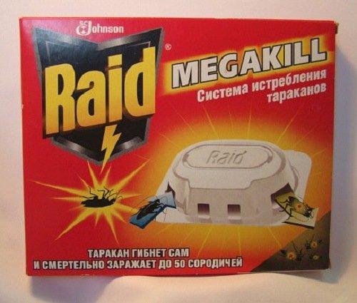 """Рейд"" - отличная ловушка-приманка для тараканов"