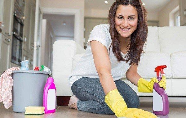 После обработки полы нужно тщательно вымыть