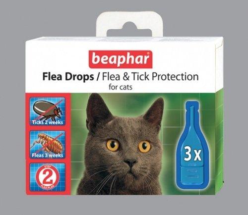 Капли для кошек против блох