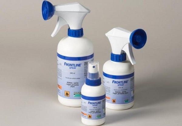 Спреи и аэрозольные инсектициды от блох