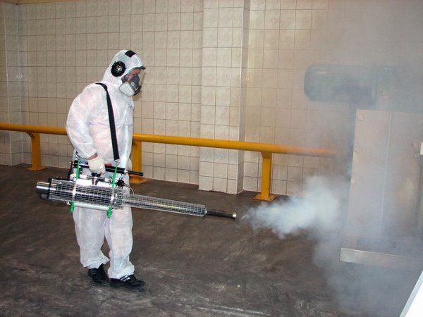 Применение горячего или холодного тумана на производстве