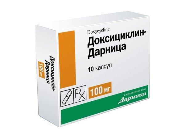 Доксициклин поможет при подозрении на боррелиоз