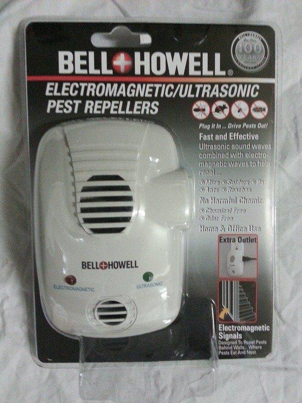 Bell Howell отличный ультразвуковой отпугиватель