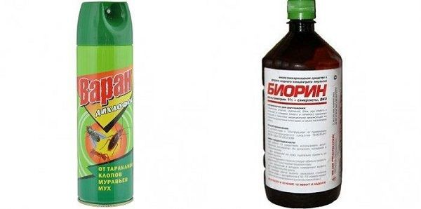 Химические средства от земляных блох