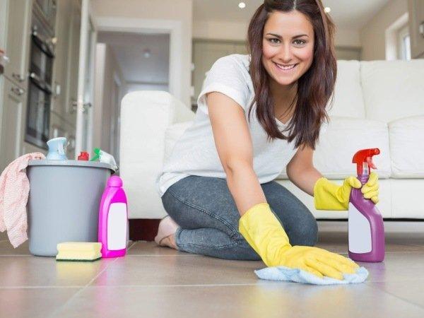 Проведите влажную уборку после обработки инсектицидами