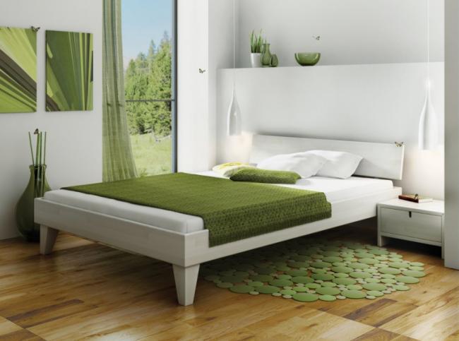 Застилайте кровать так, чтобы одеяло не лежало на полу