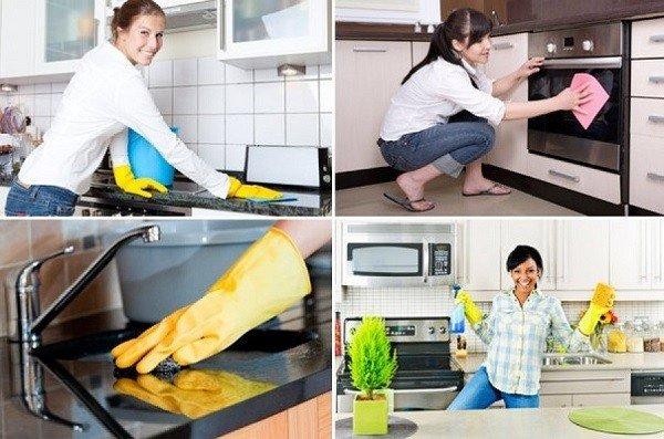 Чистота на кухне - залог успешной борьбы с тараканами