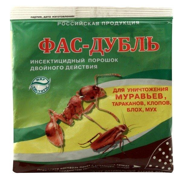 Фас-Дубль от клопов и других вредных насекомых