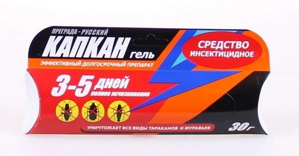 """Гель от тараканов """"Капкан"""" - эффективная помощь в борьбе с тараканами"""
