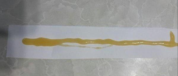 Гель можно нанести на полоски бумаги