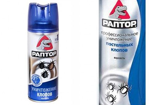 Раптор - аэрозольный инсектицид против клопов