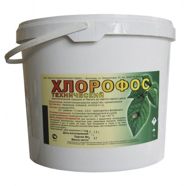 Хлорофос - препарат, который поможет бороться с клопами