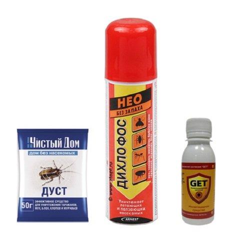 Инсектицидные препараты против клопов