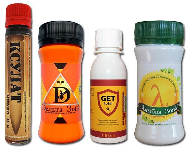 Инсектицидные средства против клопов