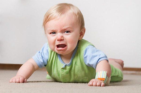 Дети сильно капризничают из-за укусов клопов