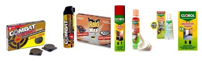 Препаратов против тараканов очень много - важно выбрать подходящий