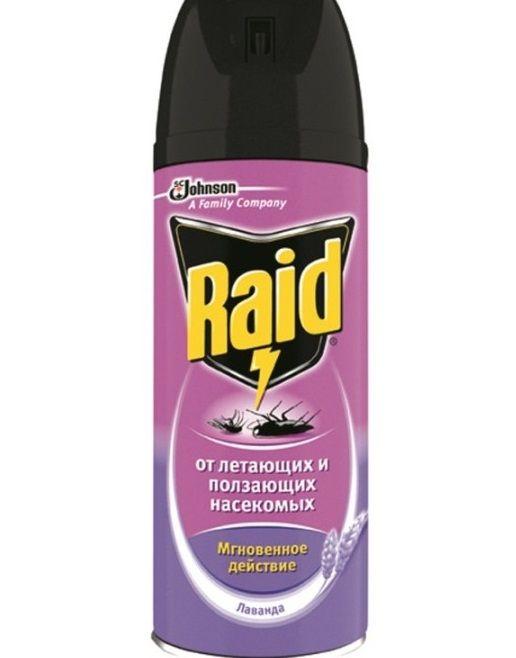 Инсектицидный аэрозоль Рейд от тараканов
