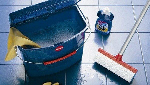 Проведите влажную уборку перед применением Тиурама