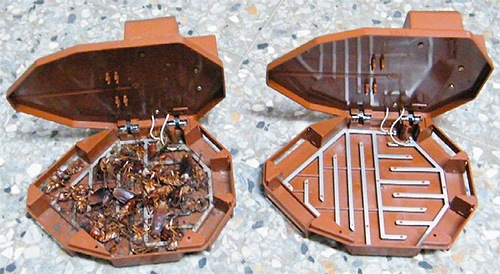Электронная ловушка против тараканов
