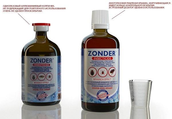 Инсектицид для уничтожения клопов Зондер
