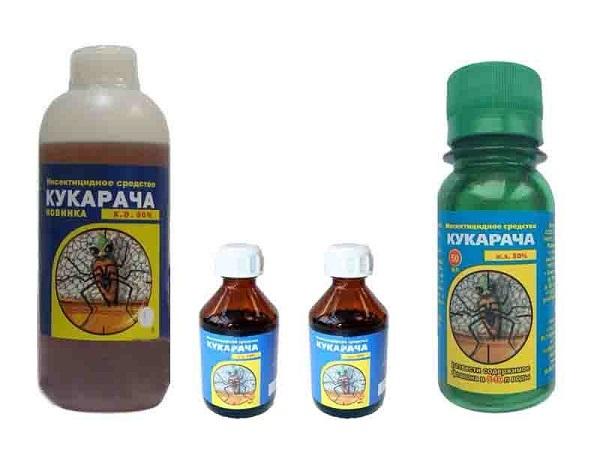 Инсектицидный концентрат против клопов Кукарача