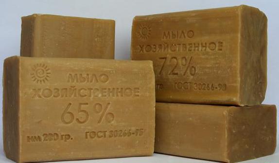 Хозяйственное мыло - отличное профилактическое средство против клопов