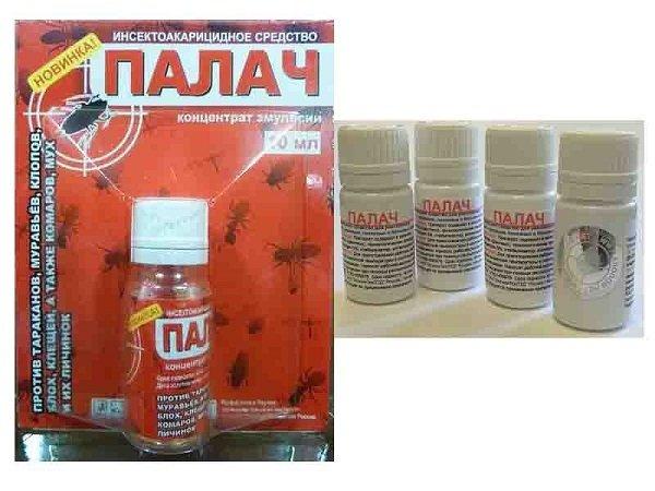 Палач действует на все виды ползающих насекомых